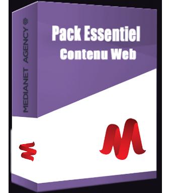 Pack Essentiel Contenu Web